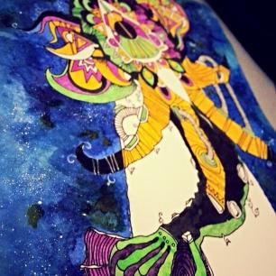 Vishnus conch