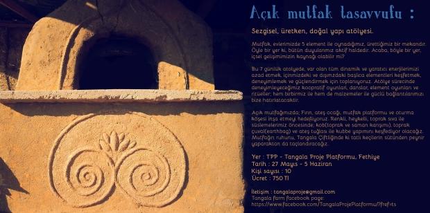 Turkish Tangala workshop poster